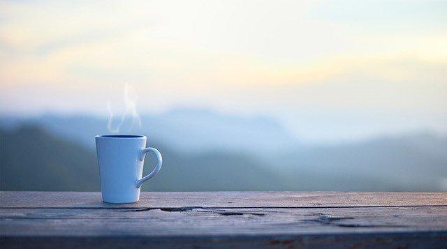 Free coffee until 10:00