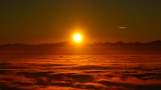Imperialer Sonnenaufgang