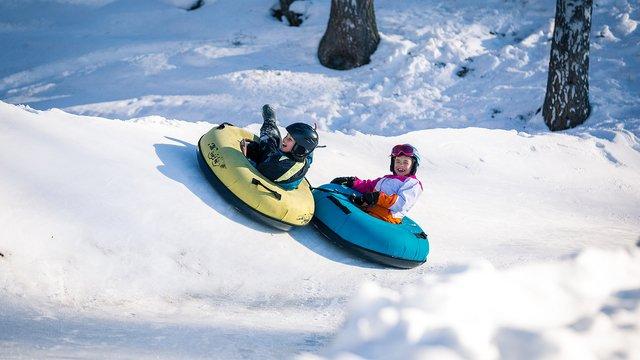 Snowtubing à Charmey