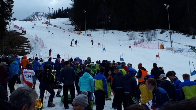 Final of the ski cup Fribourg