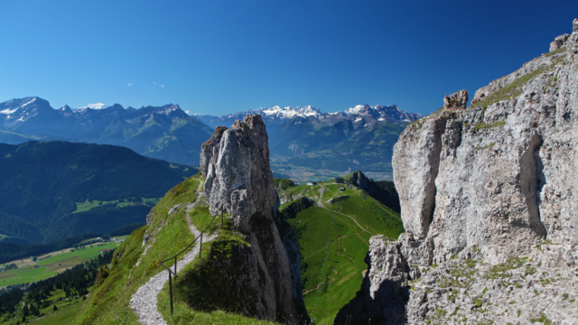 Wandern in der Tour d'Aï