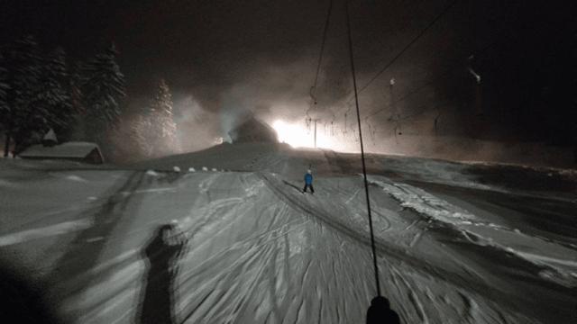 Nachtskifahren in Rathvel