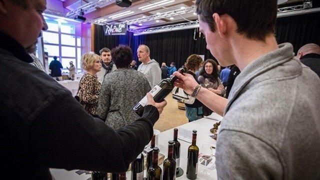 Wine and local produce fair