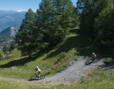 Mountain scooters
